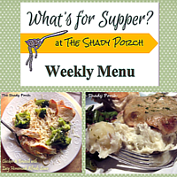 What's For Supper: Menu September 22, 2014