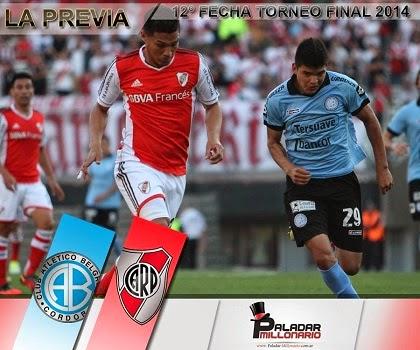 River enfrentará a Belgrano