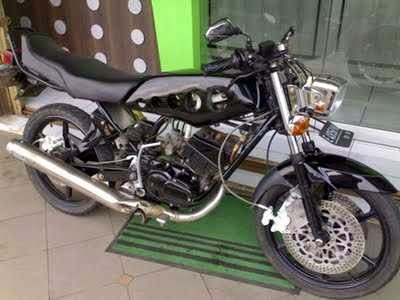 Modifikasi Motor RX King monoshock