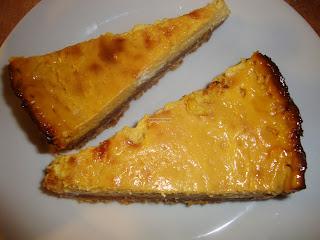 Mango Cheesecake (Eggless Low Fat)