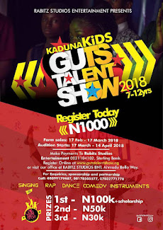 Kaduna Kids Guts Talent Show 2018