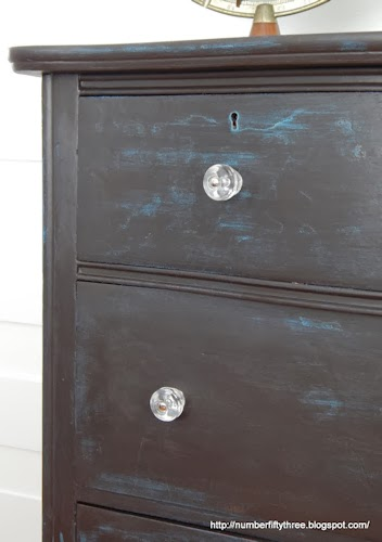 clear glass barrel knobs