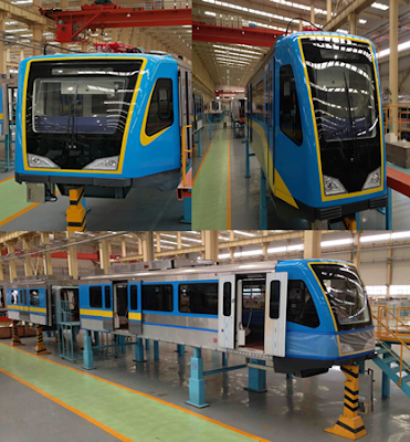 prototype MRT Trains