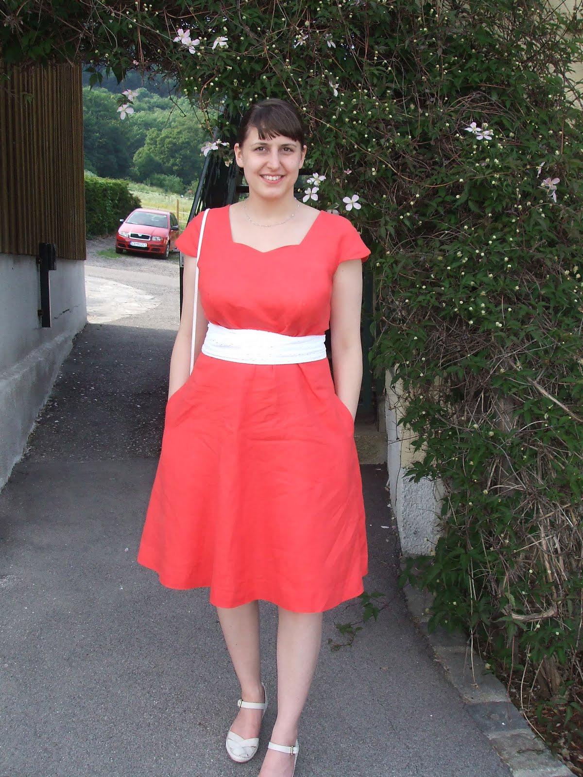 Light Salmon Colored Dress