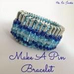 Beaded Pin Bracelet