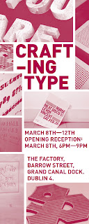Crafting Type  8-12th March 2012