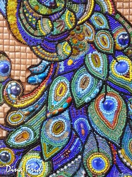 Мозаика из бисера на клею 100