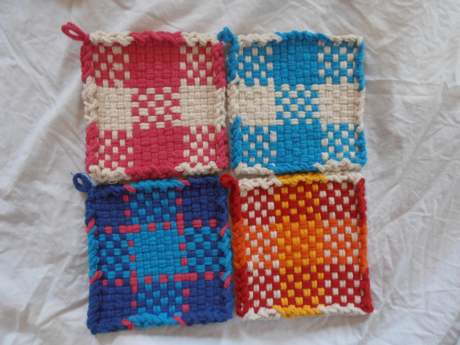 Knitting Pot Holder Patterns Free : potholder loom patterns - Google Search Knitting and other crafty t?