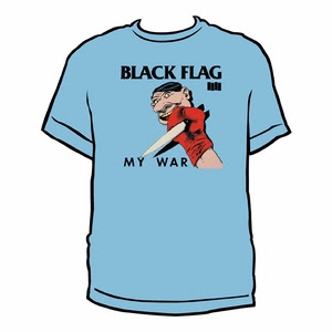 Black Flag My War Men's T-shirt