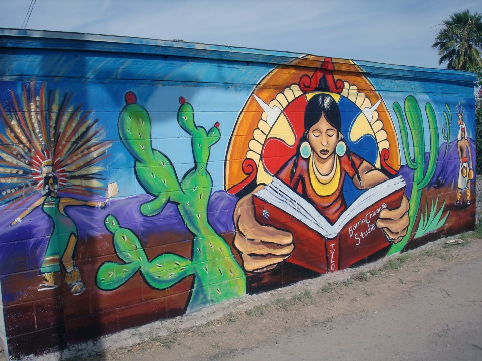 Border studies program spring 2012 my field study for Mural chicano