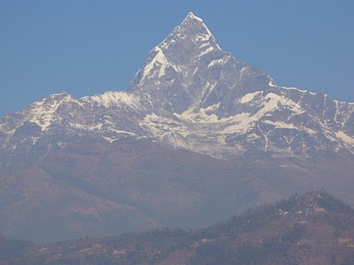 Machhapuchre himal photo pokhara