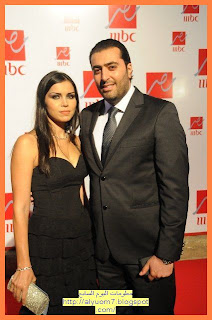 النجم السوري باسم ياخور مع زوجته