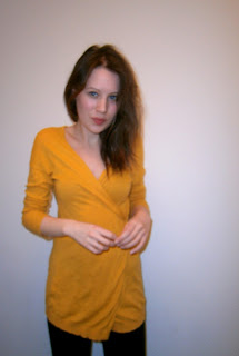 A small photo of me wearing Mango neon yellow