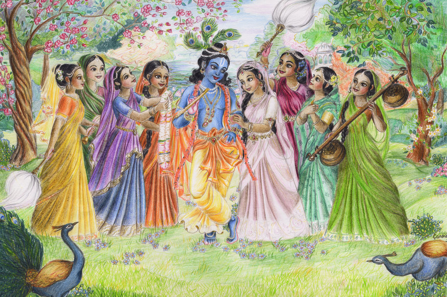 Krishna & Gopis