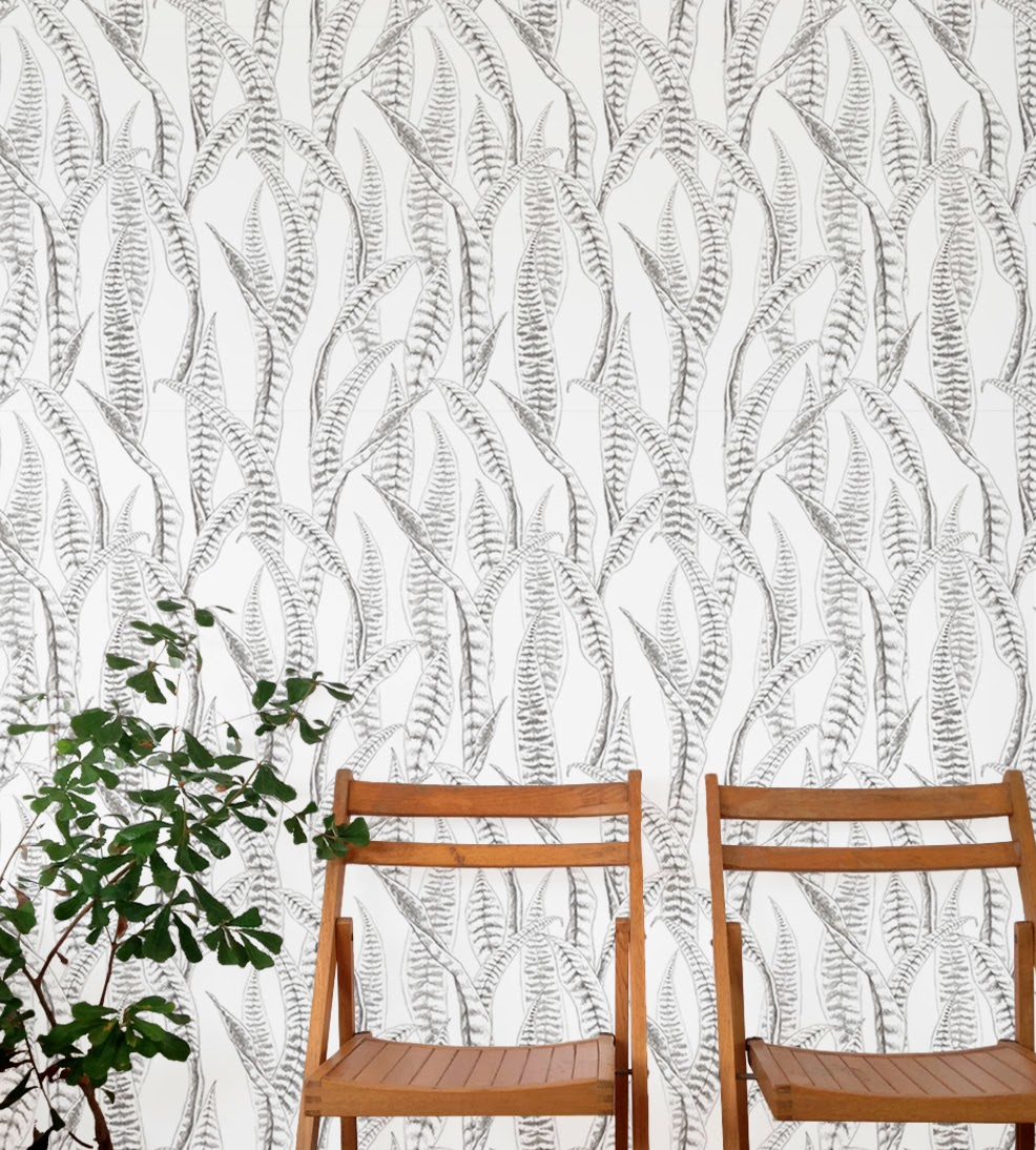 Muskwood Wallpaper and Textiles Australia - Native Tongues Feathers