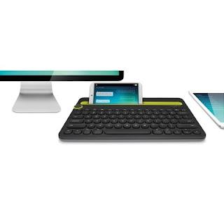 Logitech K480 Bluetooth Tablet Keyboard (Black) Price: Rs. 2,075