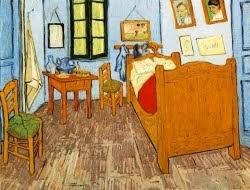O quarto de Van Gogh em Arles - 1889