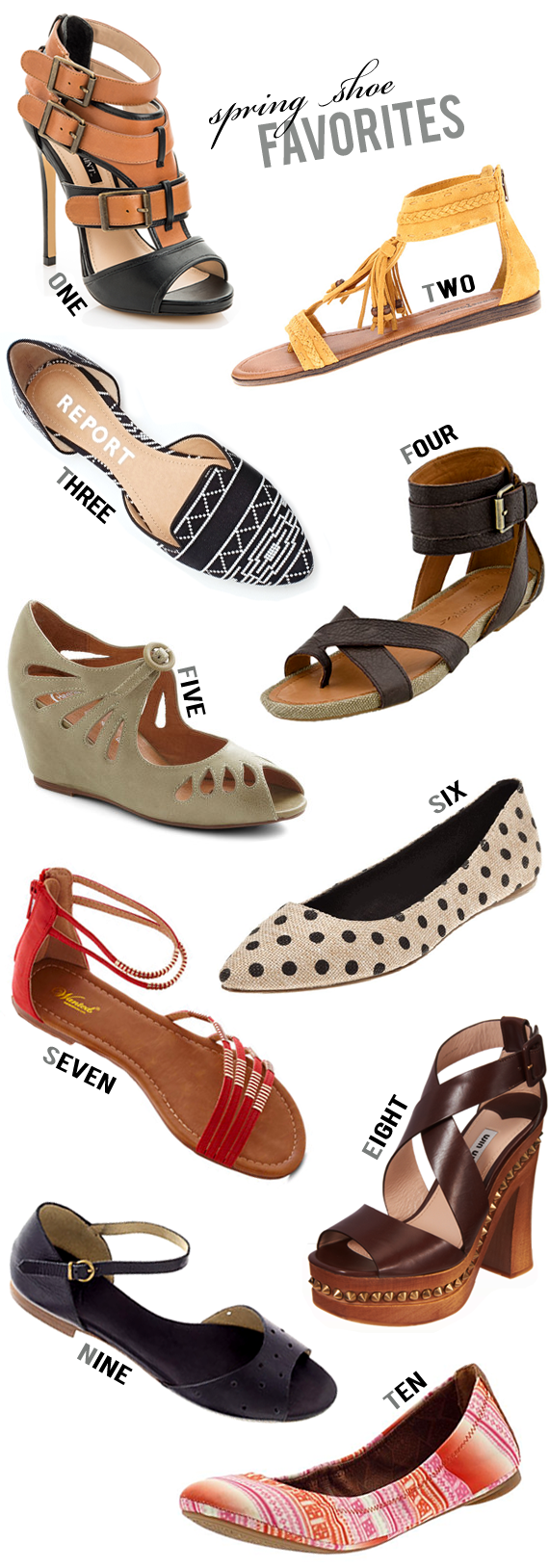 The 10 Best Shoes for Spring 2013 // Bubby and Bean