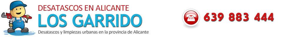 DESATASCOS ALICANTE - 639 883 444 - ECONÓMICOS - FONTANEROS URGENTES