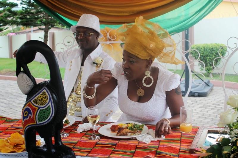 sharon marley and ekow alabi wedding ghana marries