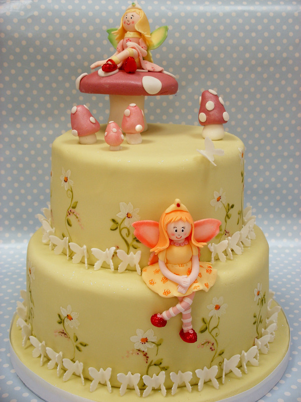 Birthday Cake Ideas And Pictures : Birthday Cake: Fairy Birthday Cakes