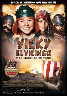 Vicky El Vikingo y el martillo de Thor (Vicky el Vikingo 2) (Vicky and the Treasure of the Gods) (2011) Español Latino