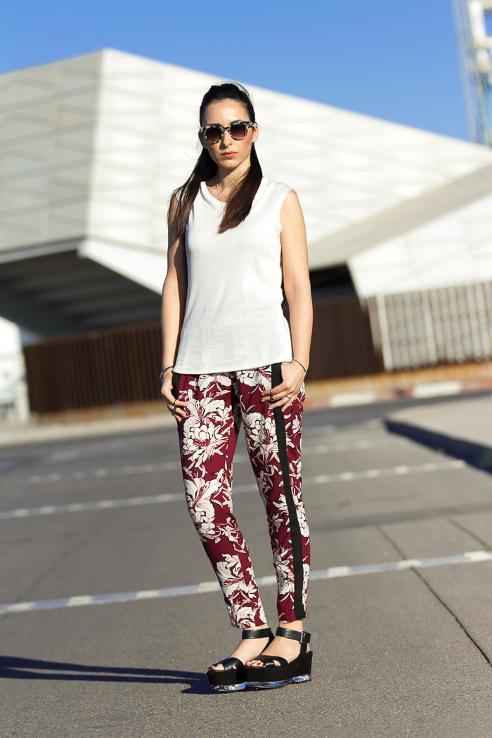 Outfit sofisticado casual chic y cómodo de la blogger de Valencia withorwithoutshoes