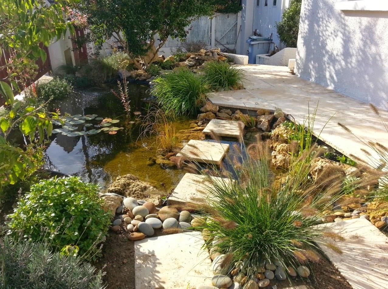 Paysagiste val d 39 oise cr ation jardin 95 bassin et terrasse dans un pe - Petit bassin de terrasse ...