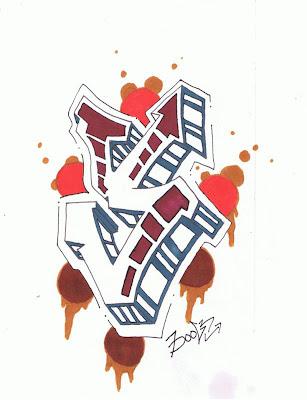 Graffiti Letters,Graffiti Letters Y