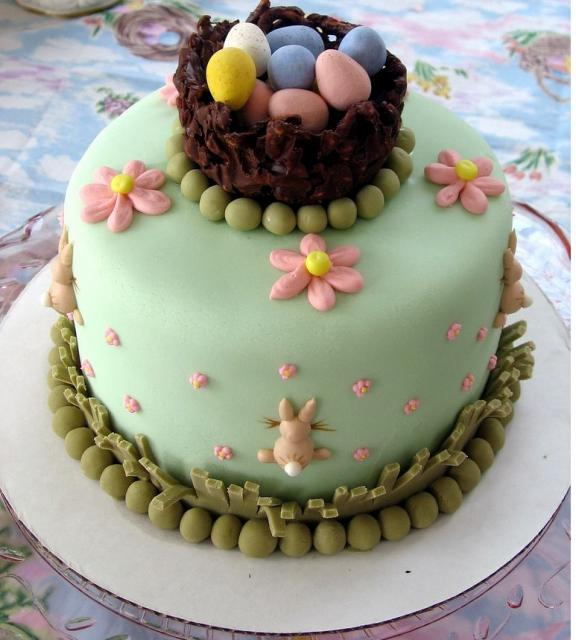 Easter Cake Decor Ideas : Collage of Life: Creative Easter Decorating Ideas for you.....