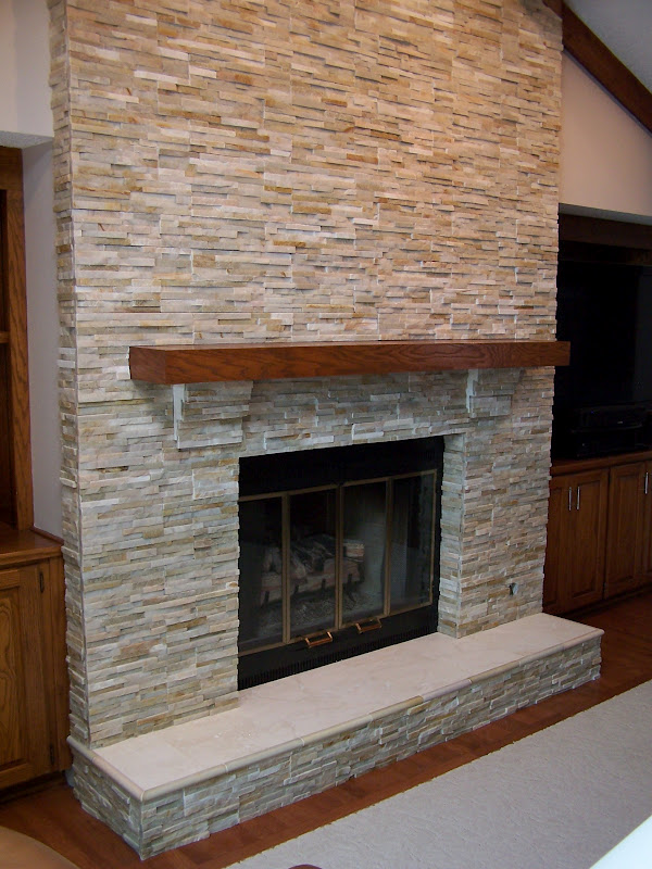 Living Room Stunning Stone Fireplace Ideas With Stone Or Slate ...
