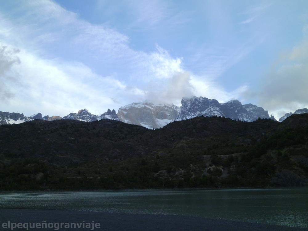 Parque Nacional Torres del Paine, Tramo Serón Dickson,  Cerro cabeza de Indio