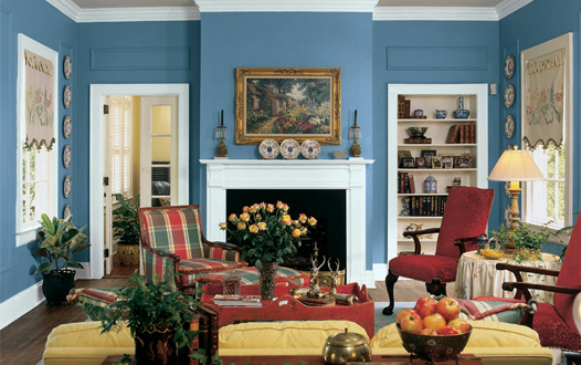 Interior decorating home and garden house paint colors for Suggested paint colors for living room