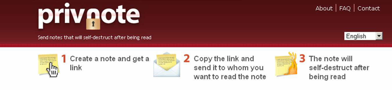 Secret Mail - send Private messages