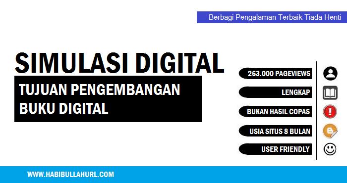 Tujuan Pengembangan Buku Digital