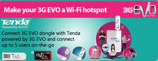 PTCL V Wireless Internet http://blog.paktron.net/2012/06/3g150b-tenda-wi-fi-router-for-ptcl-evo.html