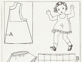Baby Dress Template Printable
