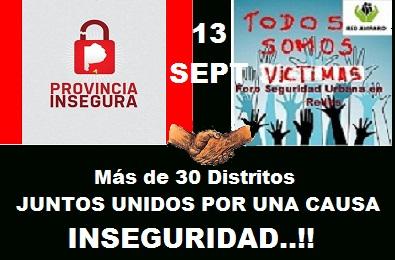RED AMPARO Y FORO SEGURIDAD URBANA SE ASOCIÓ A PROVINCIA INSEGURA