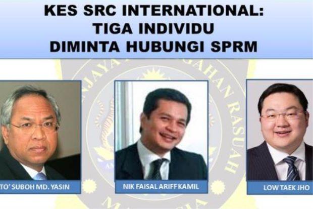 SPRM Kini Buru Dua Pengarah SRC International Dan Jho Low