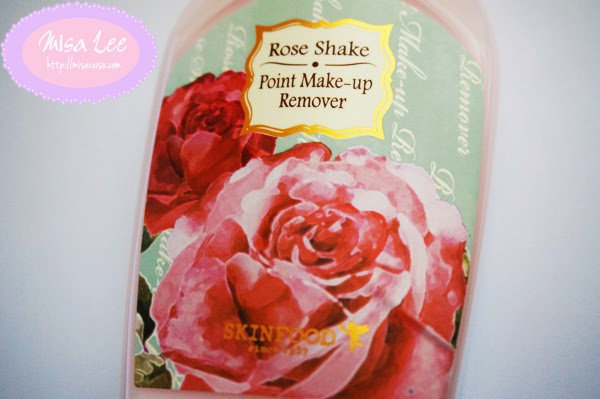skinfood milky rose shake point makeup remover