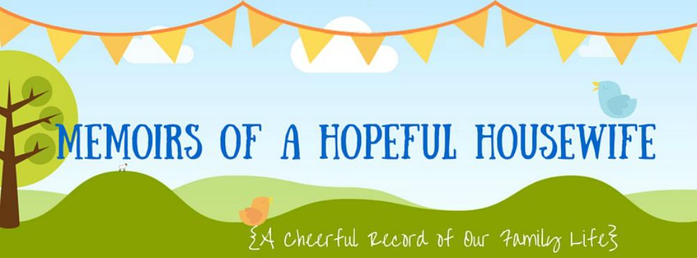 memoirs of a hopeful housewife