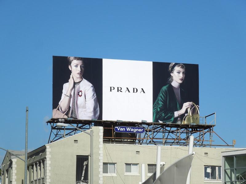 Prada Spring 2013 billboard