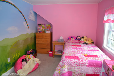 Dollops of diane the perfect room for a five year old girl for Room decor for 12 year olds