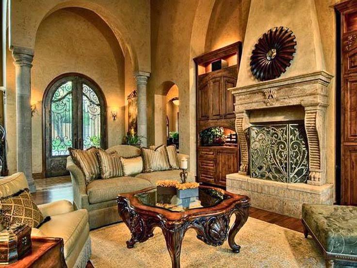 Desain interior ruang tamu rumah mewah