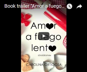 """Book tráiler """"Amor a fuego lento"""""""