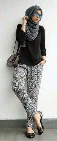 Style Wanita Tomboy Berhijab