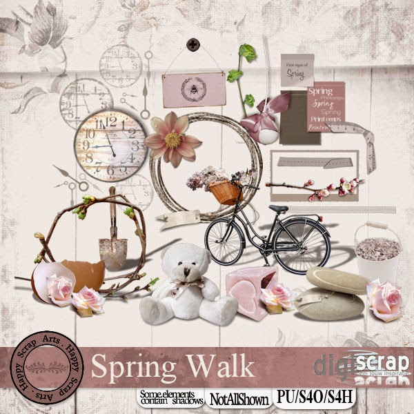 April 2015 .HSA Spring Walk elementen