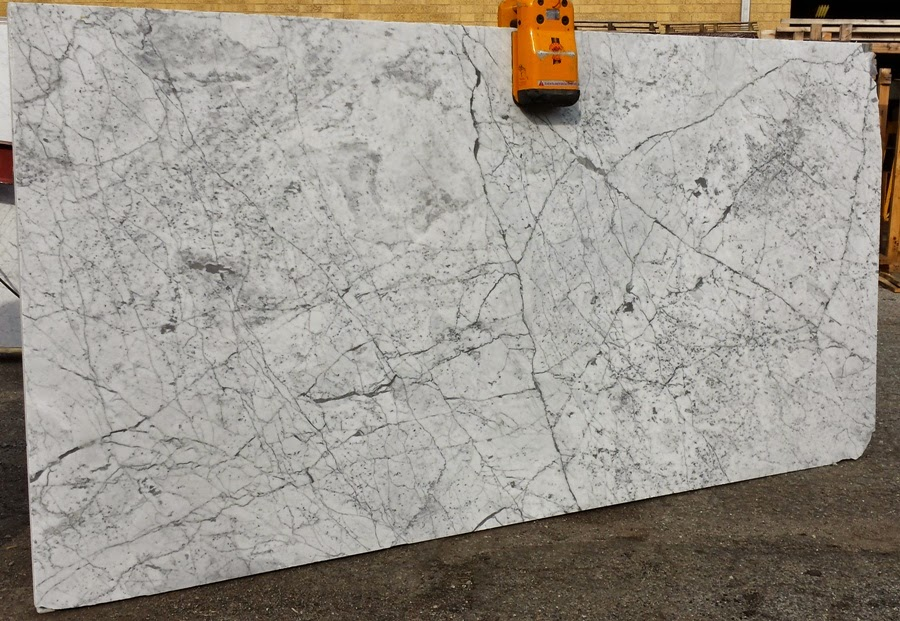 White Carrara Marble Slab in New York