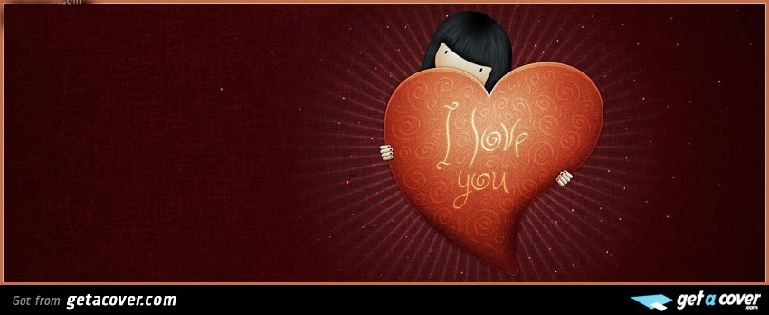 Valentines Day 2014 Facebook Cover