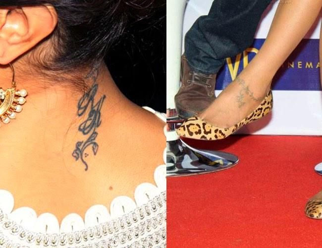 Hot Tattos of Bollywood Celebs   Random Blog ...